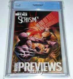 Marvel Previews #95 CGC Universal Grade Comic 9.6 1st Miles Morales Cover Image