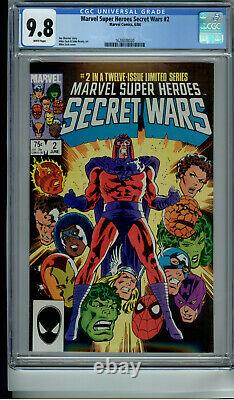 Marvel Super-heroes Secret Wars 1 2 3 4 5 6 7 8 9 10 11 12 All Wp Cgc 9.8 Venom