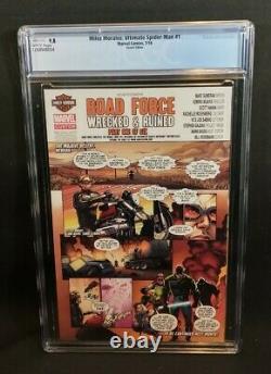 Miles Morales Ultimate Spider-Man #1 CGC 9.8 Fiona Staples Variant