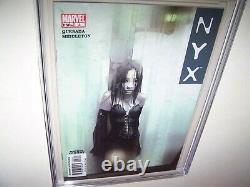 NYX #3 CGC 9.8 X- 23 1st app Laura Kinney Wolverine Daughter White Pgs KEY ISSUE