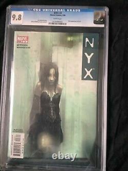 NYX #3 (Feb 2004, Marvel) CGC 9.8