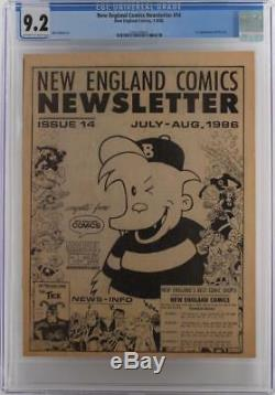 New England Comics Newsletter #14 -NEAR MINT- CGC 9.2 NM- 1st App of The Tick