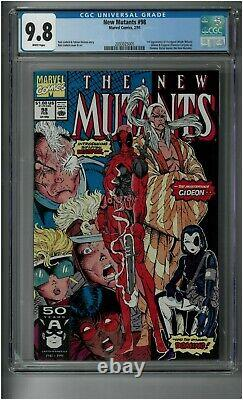 New Mutants #98 CGC 9.8 1991 First Appearance Of Deadpool Gideon Copycat