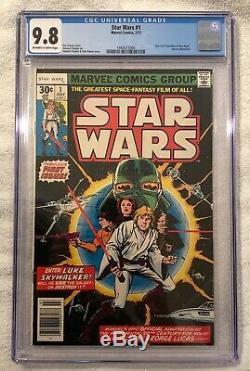 STAR WARS #1 CGC 9.8 Marvel Comics 1977