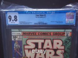 STAR WARS 1977 #1 #2 #3 #4 #5 #6 all CGC 9.8 A New Hope 1st Print MARVEL COMICS