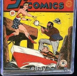 Sensation Comics #3 (DC 1942) CGC 6.5 Restored Golden Age Wonder Woman Key