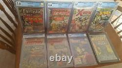 Silver Modern Age Collection CGC X-Men 1 Avengers 1 FF 48 Over 5000 Comics