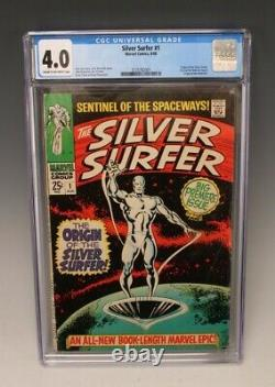 Silver Surfer #1 CGC 4.0 (Marvel, 1968) Origin of Silver Surfer and The Watchers