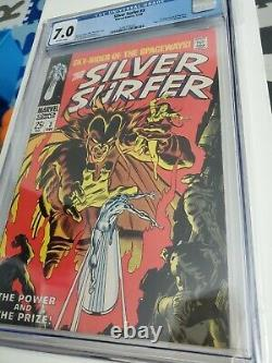 Silver Surfer #3 CGC 7.0 1st Appearance Mephisto 1968