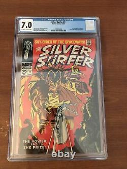 Silver Surfer 3 CGC 7.0 (1st Appearance Of Mephisto)