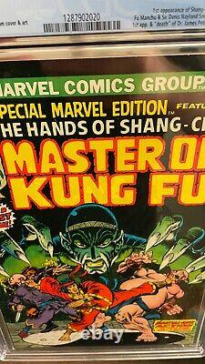 Special Marvel Edition 15 1st Shang Chi Master of Kung Fu CGC 9.6 Rare White Pgs