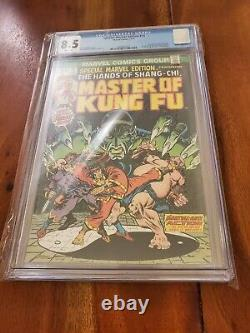 Special Marvel Edition #15 CGC 8.5 1973 1st app. Shang Chi