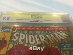 Spider-Man 1990 #1 CGC 9.8 Signature Series Stan Lee Signed