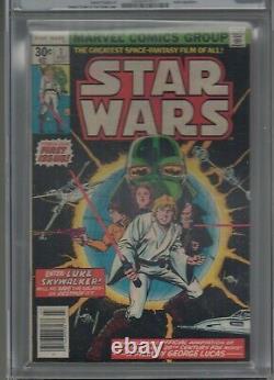 Star Wars #1 CGC 9.2 NM- 1ST APP LUKE, LEIA, HAN SOLO, DARTH VADER! Huge Auction