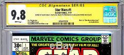 Star Wars #1 Cgc-ss 9.8 Signed 3x By Carrie Fisher Mark Hamill David Prowse 1977