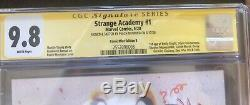 Strange Academy #1 SIGNED CGC 9.8 Comic Mint Virgin B Peach Momoko As 4 Of 600