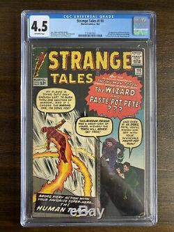 Strange Tales 110 CGC 4.5 1st Doctor Strange Ancient One Appearance. NO RESERVE