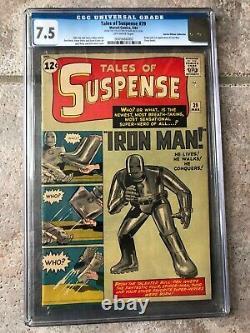 Tales Of Suspense #39 Cgc 7.5 1963 / Harlan Ellison Collection