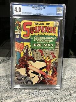 Tales Of Suspense 52 CGC 4.0 First Appearance Of Black Widow
