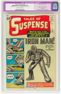 Tales of Suspense #39 CGC 6.0 (R) 1963 1st Iron Man! Avengers! K5 111 cm