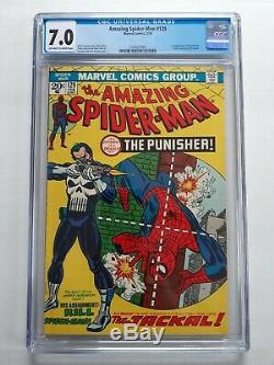 The Amazing Spider-Man #129 cgc 7.0 (#2104671001) 1st appearance of Punisher