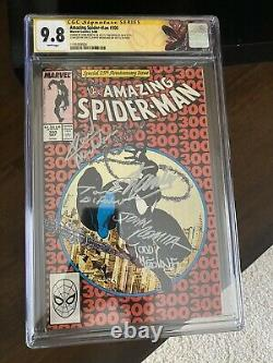The Amazing Spider-Man #300 Cgc 9.8 SS 5x One Of A Kind! Hot! 1st Venom