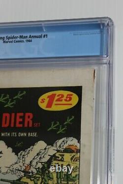 The Amazing Spider-Man Annual #1 VG+ CGC 4.5 (Marvel)