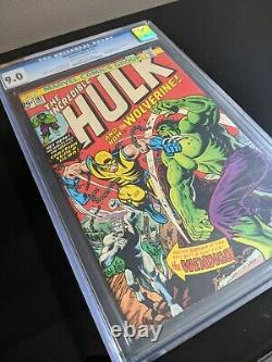 The Incredible HULK #181 WOLVEINE FIRST APPEARANCE! CGC 9.0 PRICED TO SELL
