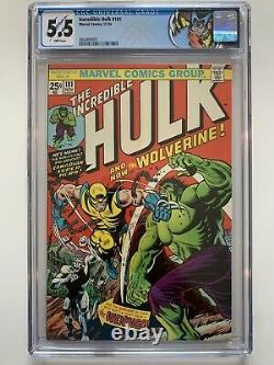 The Incredible Hulk #181, CGC 5.5