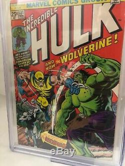 The Incredible Hulk #181 (Nov 1974, Marvel) Signed Stan Lee Cgc Graded