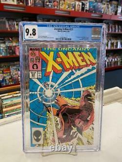 UNCANNY X-MEN #221 (Marvel Comics, 1987) CGC Graded 9.8! White Pages