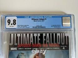 Ultimate Fallout 4 CGC 9.8 1st Appearance Of Miles Morales 1st Print