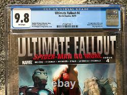 Ultimate Fallout #4 (Miles Morales) CGC 9.8 WP (1st Print)