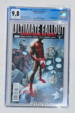 UltimateFallout 4 CGC 9.8 1st Print 1st Appearance of Miles Morales Spider-Man