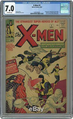 Uncanny X-Men #1 CGC 7.0 1963 2028184003 1st app. X-Men