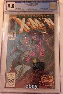 Uncanny X-Men #266 CGC 9.8, #267 CGC 9.6 and X-men Annual #14 CGC 9.4