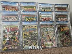 Uncanny X-Men CGC 9.4 full run lot Giant Size 1 94 -143 +bonus Byrne Claremont
