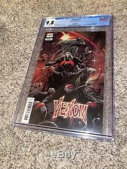 Venom 3 2018 3rd Print Knull Cover & 1st Full Appearance CGC 9.8 White Pgs Cates