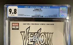 Venom #3A 2018 MARVEL COMICS CGC 9.8 1st Appearance of Knull