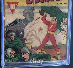 Whiz Comics #3 (#2) (1940) Cgc 1.0 (ow-w) 2nd App Of Captain Marvel! Key