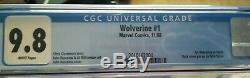 Wolverine #1 CGC 9.8 (Nov 1988, Marvel) Buscema Claremont