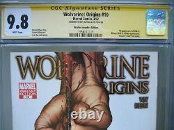 Wolverine Origins #10 3rd Claw Variant CGC 9.8 SS Signed Joe Quesada 1st Daken