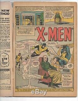 X-MEN #1 1963 CGC 2.5 1st Jean Grey/Prof X/ Cyclops/ Magneto/ Angel/Beast/Iceman