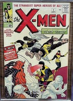 X-Men #1 1963 CGC 8.0 R Mega Holy Grail Silver Age Comic Book! MCU Movie Soon