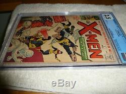 X Men 1 1963 Cgc 2.5