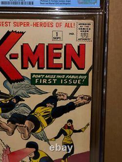 X-Men #1 CGC 5.0 1963 1st Appearance! Key Silver Age! Wolverine! L9 913 cm clean