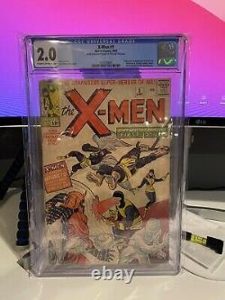 X-Men #1 CGC GD 2.0 Cream to Off White Marvel Comics
