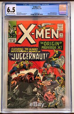 X-Men # 12 CGC 6.5 F+ JUST SLABBED, NEW CASE! Avengers, Spider Man, Hulk