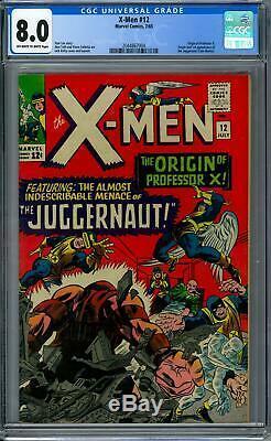 X-Men #12 CGC 8.0 (OW-W) Origin & 1st Appearance of the Juggernaut