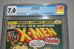 X-Men #94 CGC 7.0 OFF-WHITE PAGES 2083793002 2nd Appearance of the New X-Men